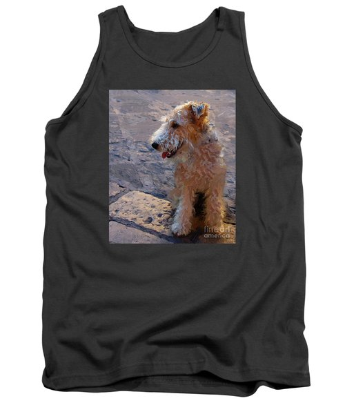 Tank Top featuring the photograph Darby by John Kolenberg