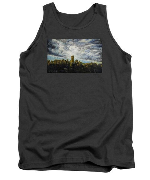 Dark Clouds Approaching 2 Tank Top by Ron Richard Baviello
