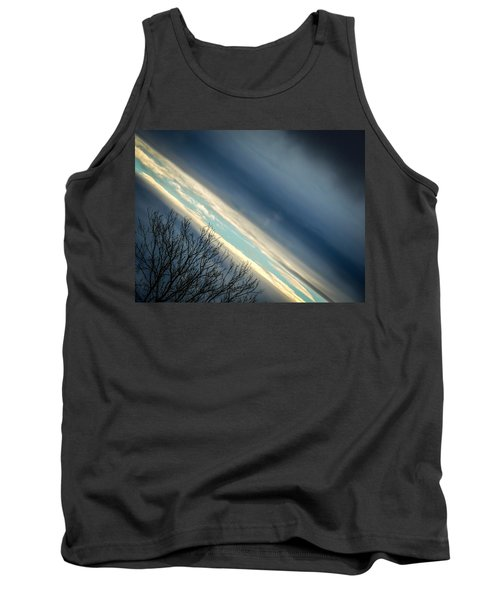 Dark Clouds Parting Tank Top