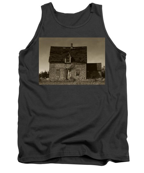 Tank Top featuring the photograph Dark Day On Lonely Street by RC DeWinter