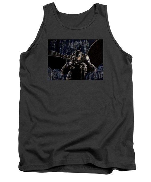 Dark Knight Tank Top by Sylvia Thornton