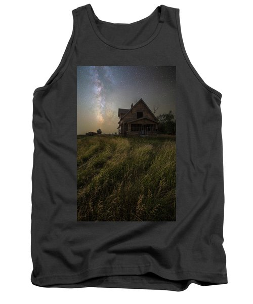 Tank Top featuring the photograph Dark Manor by Aaron J Groen