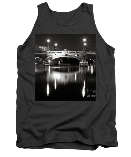 Dark Nocturnal Sound Of Silence Tank Top