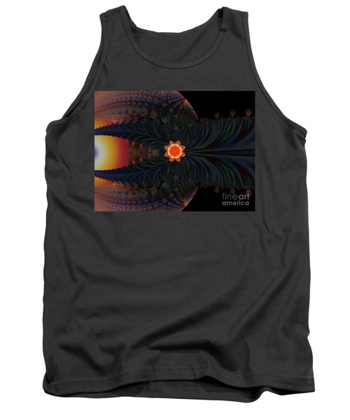 Dark Space Fractal  Tank Top