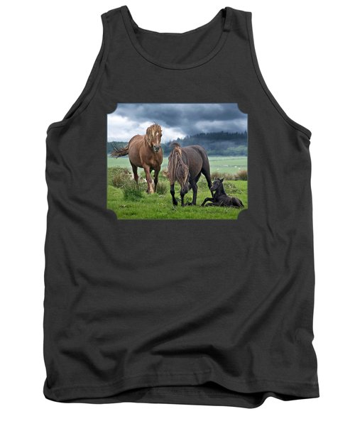 Dartmoor Ponies Tank Top