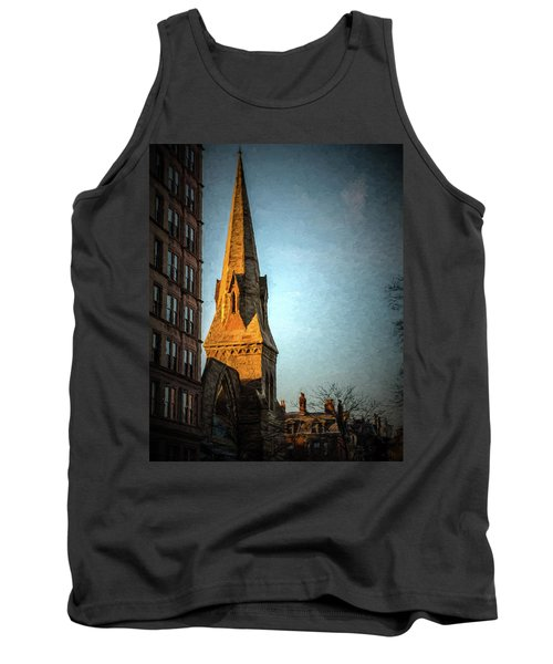 Dartmouth Street In Boston Tank Top
