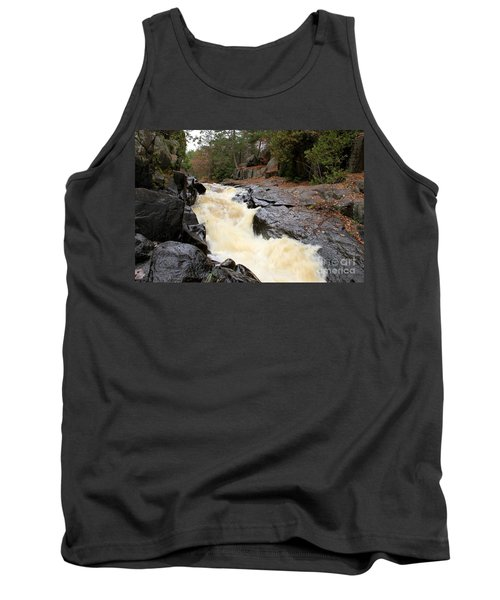 Tank Top featuring the photograph Dave's Falls #7284 by Mark J Seefeldt