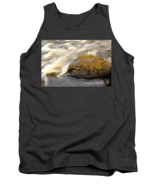 Tank Top featuring the photograph Dave's Falls #7442 by Mark J Seefeldt