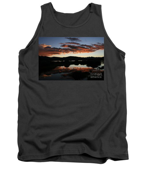Dawn At Lake Dillon Tank Top