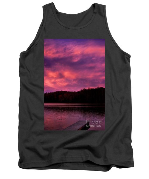 Tank Top featuring the photograph Dawn At The Dock by Thomas R Fletcher