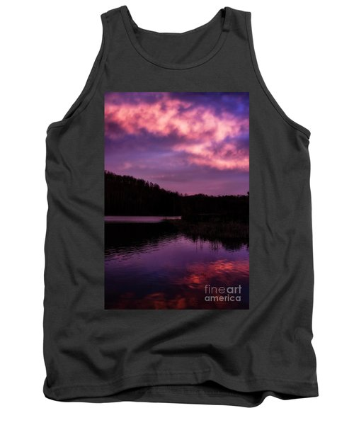 Tank Top featuring the photograph Dawn Big Ditch Wildlife Management Area by Thomas R Fletcher