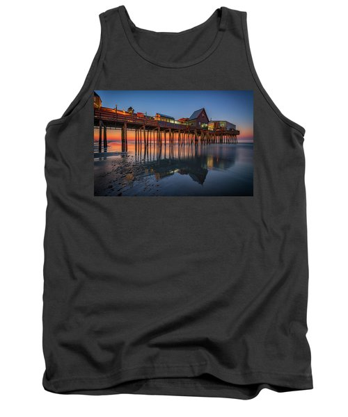 Tank Top featuring the photograph Dawn On Old Orchard Beach by Rick Berk