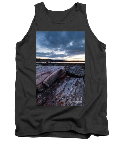 Dawn On The Shore In Southwest Harbor, Maine  #40140-40142 Tank Top