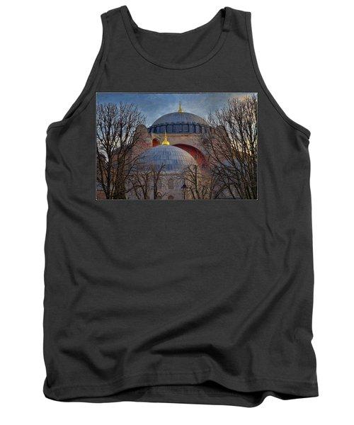 Dawn Over Hagia Sophia Tank Top