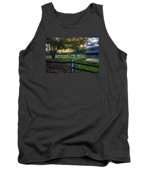 Day Is Nearly Done Tank Top by Tricia Marchlik