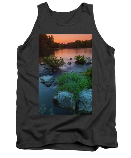 Daybreak Over The Old Reverbed Tank Top