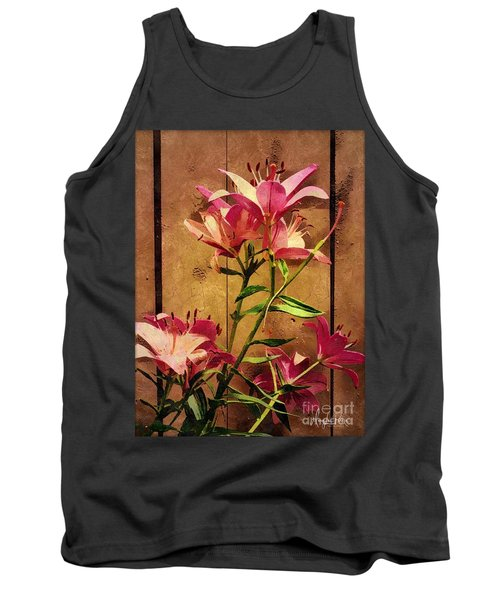 Dayliliys In  Guilford , Conn Tank Top