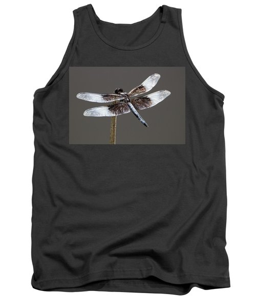 Dazzling Dragonfly Tank Top by Sheila Brown