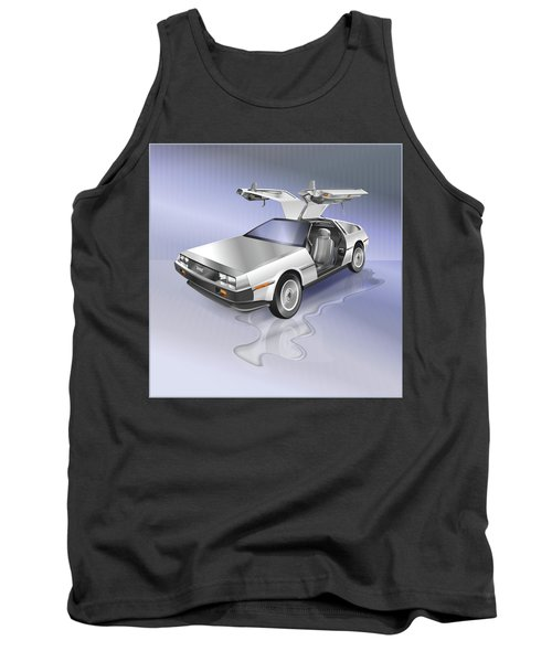 De Lorean Tank Top
