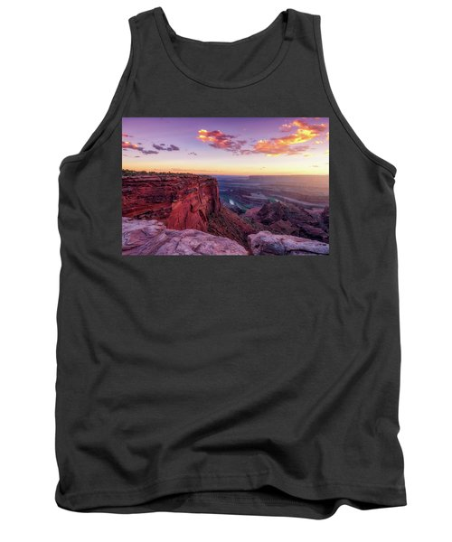 Tank Top featuring the photograph Dead Horse Point Sunset by Darren White