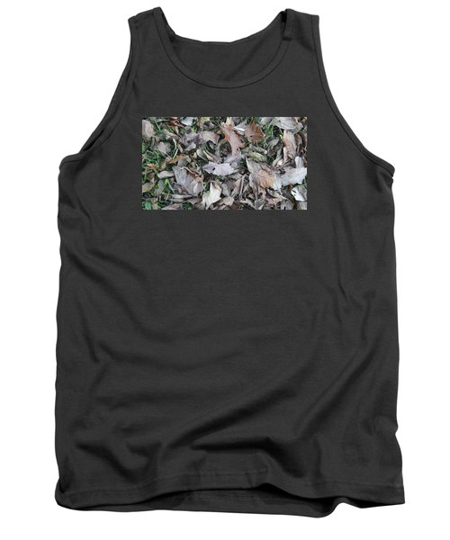 Tank Top featuring the mixed media Dead Leaves by Don Koester