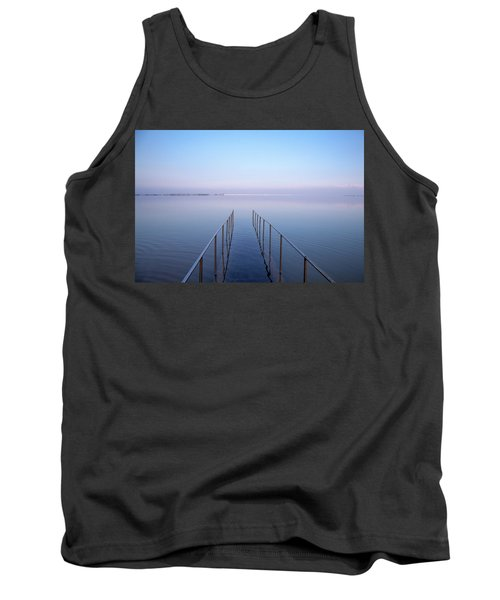 Tank Top featuring the photograph The Dead Sea by Yoel Koskas
