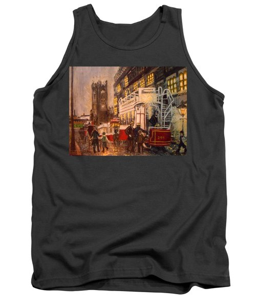 Deansgate With Tram Tank Top