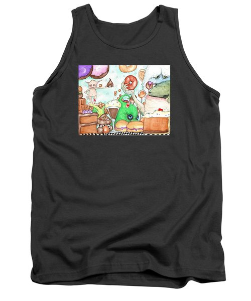 Death By Chocolate Tank Top