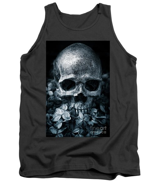 Tank Top featuring the photograph Death Comes To Us All by Edward Fielding