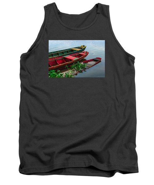 Decaying Boats Tank Top by Celso Bressan