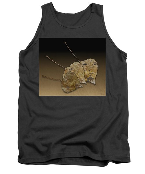 Tank Top featuring the photograph Decaying Leaves by Joe Bonita