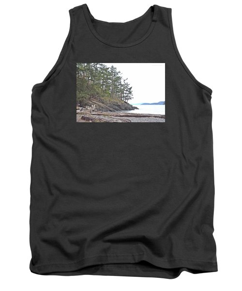 Deception Pass In Late December  Tank Top by Tobeimean Peter