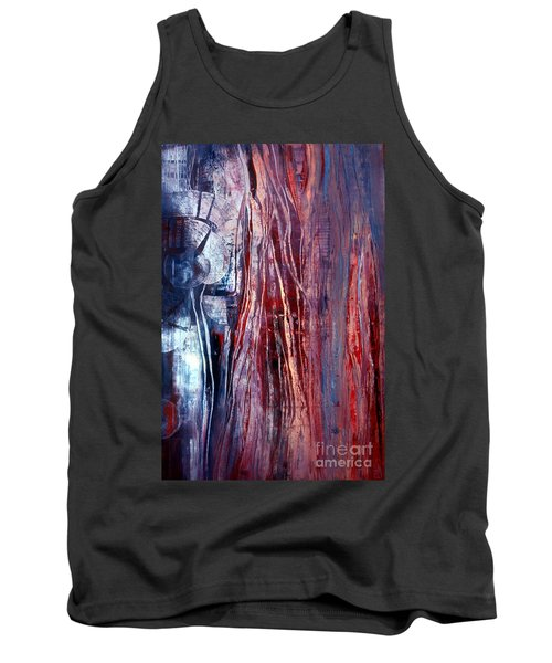 Decision Time Tank Top by Valerie Travers