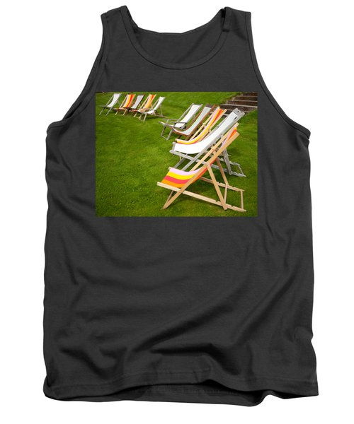 Deck Chairs Tank Top