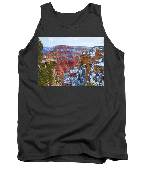 Tank Top featuring the photograph Deep And Wide by Roberta Byram