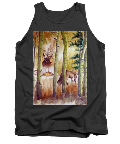 Deep Woods Camp Tank Top