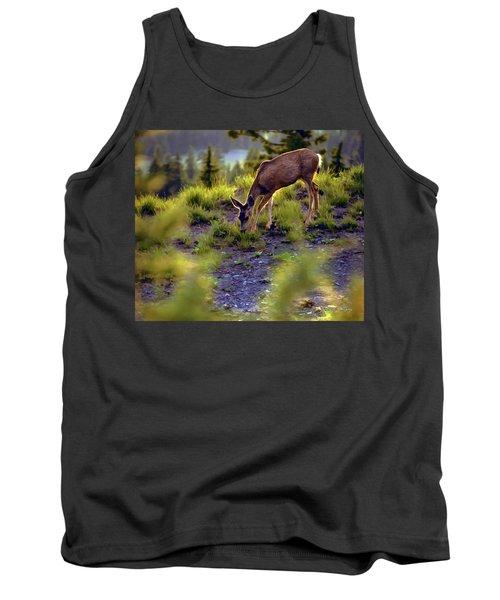 Deer At Crater Lake, Oregon Tank Top
