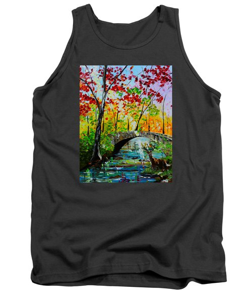 Deer Crossing Tank Top