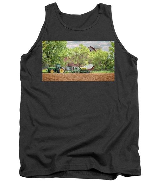 Deere On The Farm Tank Top