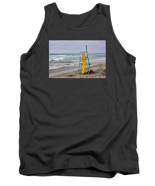 Del Mar Lifeguard Tower Tank Top