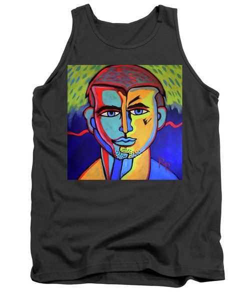 Delectable Strawberry Man By Robert Erod  Artist Tank Top
