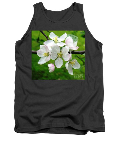 Delicate Apple Blossoms Tank Top
