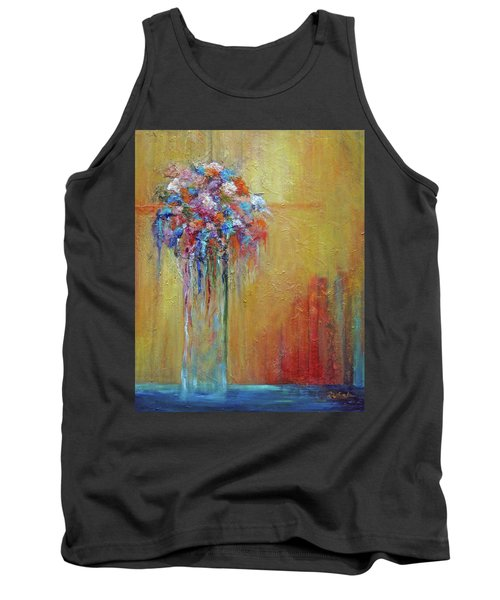 Delivered In Time Tank Top by Roberta Rotunda