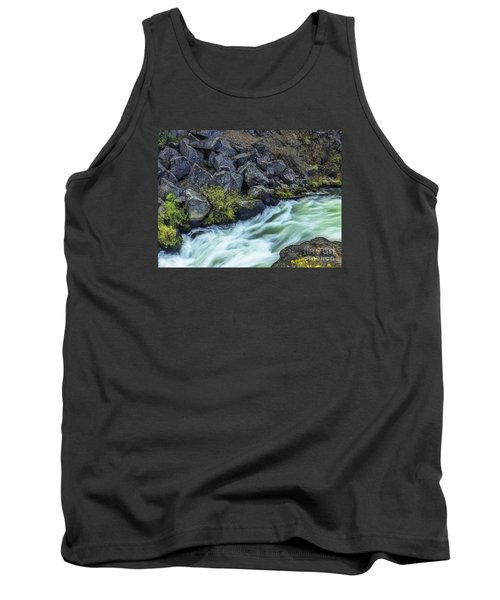 Deluge At The Falls Tank Top by Nancy Marie Ricketts