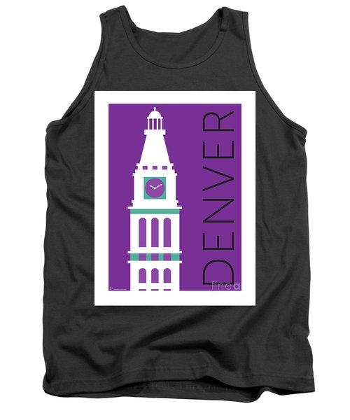 Denver D And F Tower/purple Tank Top