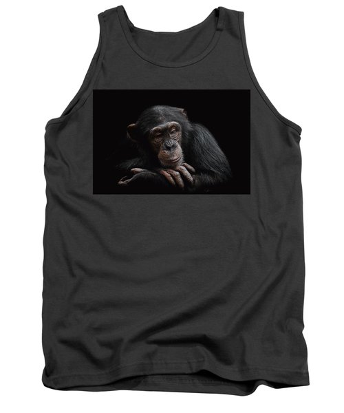 Depression  Tank Top by Paul Neville