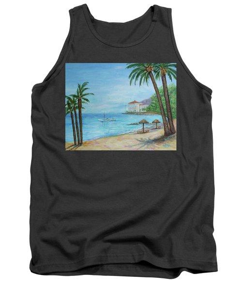 Descanso Beach, Catalina Tank Top