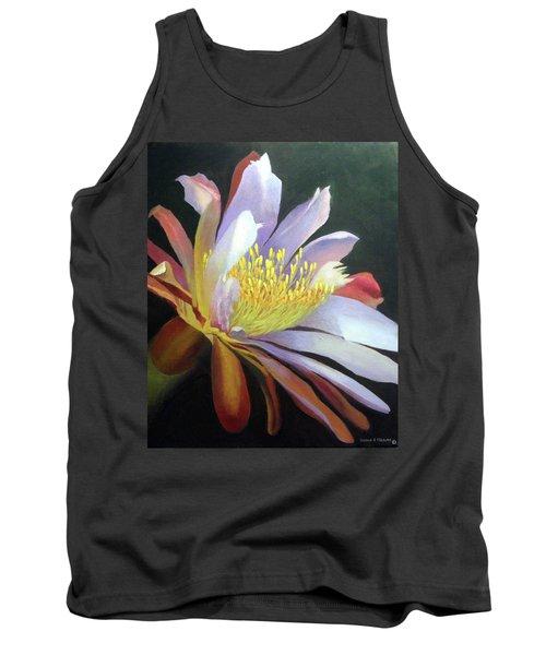 Desert Cactus Flower Tank Top