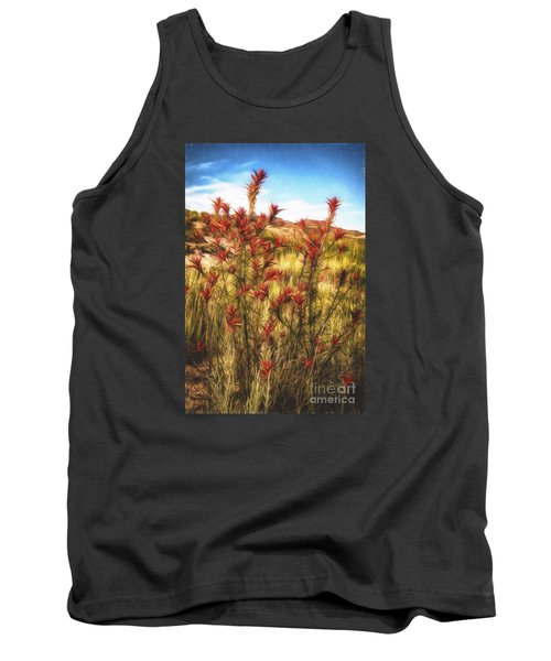 Desert Flora  ... Tank Top by Chuck Caramella