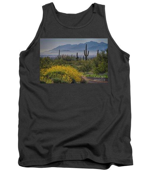 Desert Springtime Tank Top by Anne Rodkin